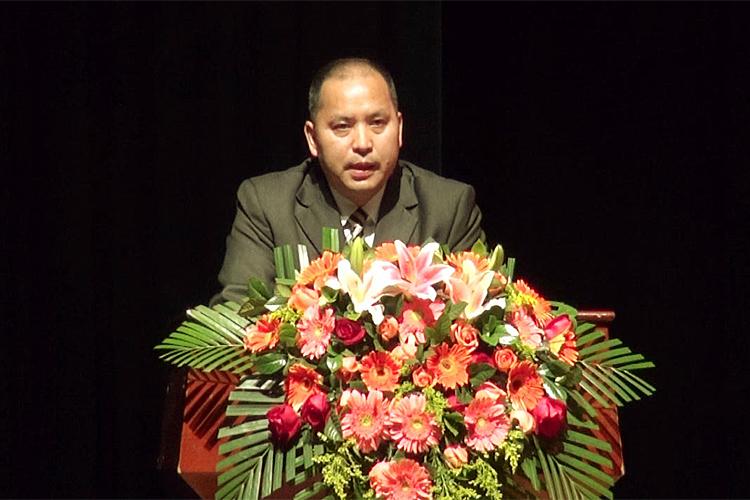 达德教育集团董事长李晓珍致开幕辞